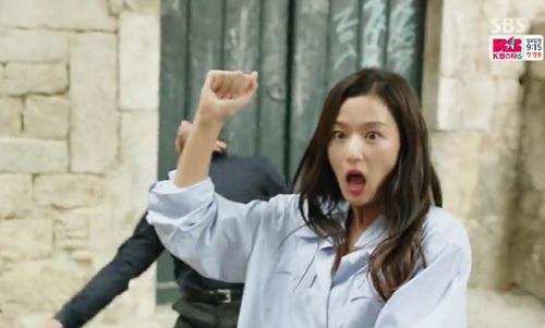 huyen thoai bien xanh tap 2: lee min ho va jeon ji hyun co nu hon dai duong uot at - 10