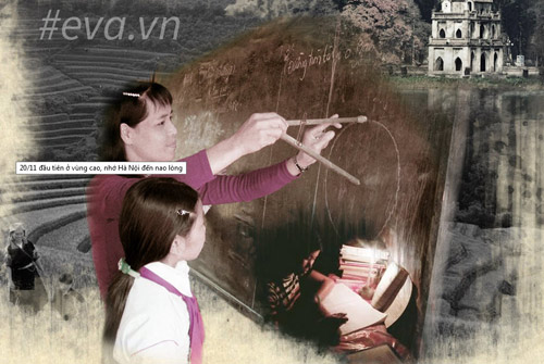 20-11 đầu tiên ở vùng cao, nhớ Hà Nội đến nao lòng-1