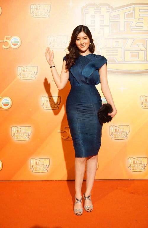 Mỹ nhân 9X Huỳnh Tiên hội ngộ dàn sao TVB tại Hongkong-1