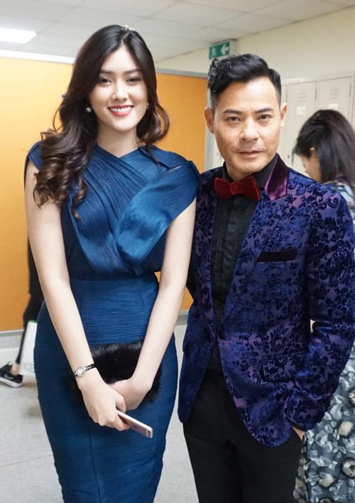 Mỹ nhân 9X Huỳnh Tiên hội ngộ dàn sao TVB tại Hongkong-9