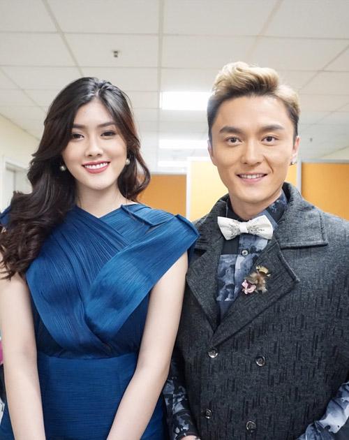 Mỹ nhân 9X Huỳnh Tiên hội ngộ dàn sao TVB tại Hongkong-10