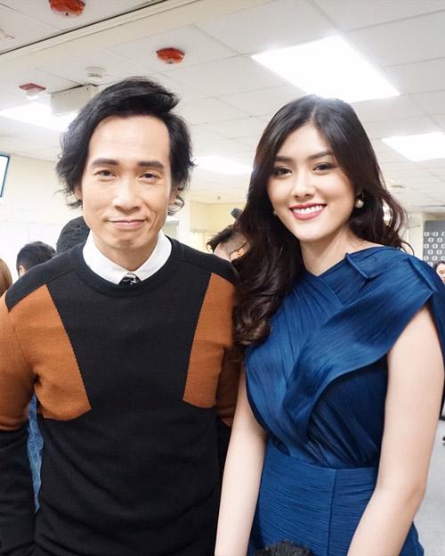 Mỹ nhân 9X Huỳnh Tiên hội ngộ dàn sao TVB tại Hongkong-4