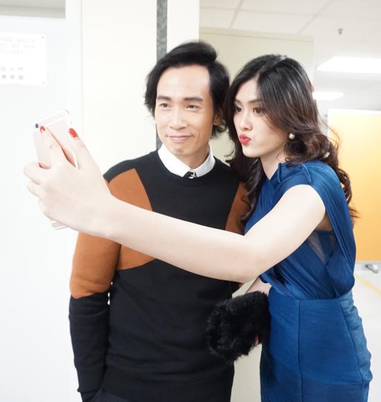 Mỹ nhân 9X Huỳnh Tiên hội ngộ dàn sao TVB tại Hongkong-5