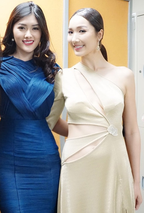 Mỹ nhân 9X Huỳnh Tiên hội ngộ dàn sao TVB tại Hongkong-6