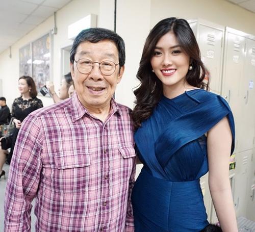 Mỹ nhân 9X Huỳnh Tiên hội ngộ dàn sao TVB tại Hongkong-7