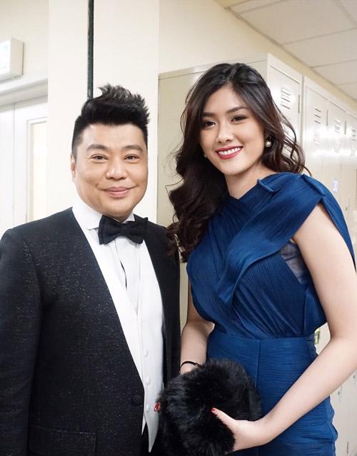 Mỹ nhân 9X Huỳnh Tiên hội ngộ dàn sao TVB tại Hongkong-8