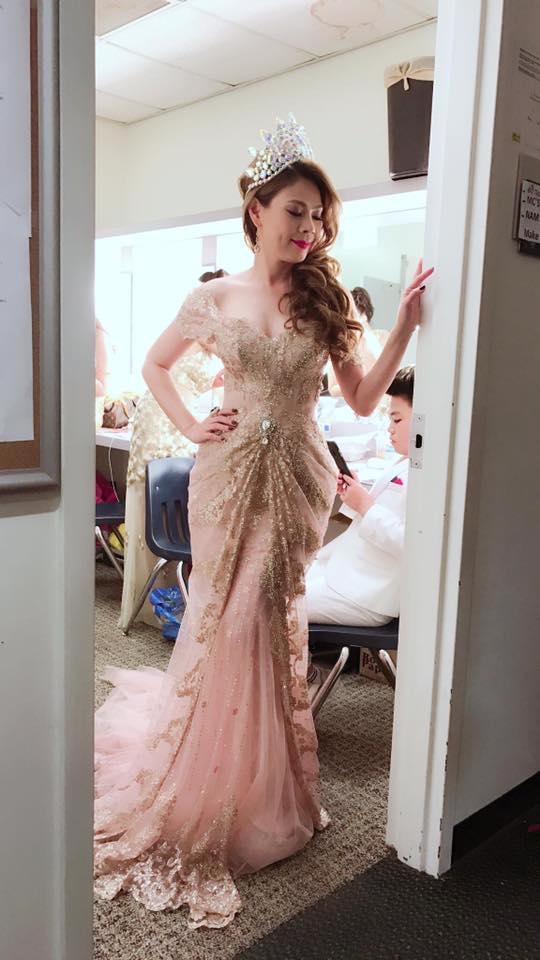 Cùng một chiếc váy, Hoa hậu Mỹ Linh - ca sĩ Thanh Thảo ai đẹp hơn? - 5