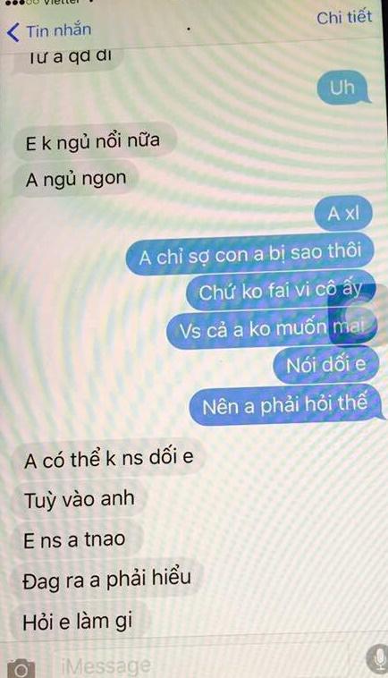 chong khum num nhan tin xin phep bo cho duoc nam cung vo gay phan no mxh - 6