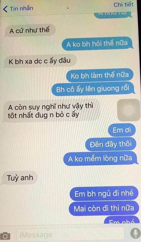 chong khum num nhan tin xin phep bo cho duoc nam cung vo gay phan no mxh - 8