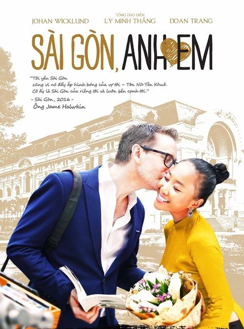 """Sài Gòn, Anh Yêu Em: Phim có vợ chồng Đoan Trang đóng """"mang chuông đi đánh"""" nước Úc-1"""
