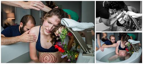 """Hình ảnh toàn bộ quá trình đẻ thường """"không thể thật hơn"""" của bà mẹ trẻ - 7"""
