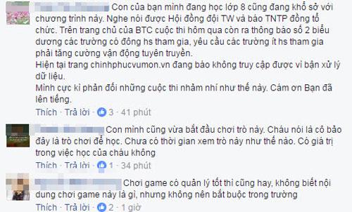 tam thu gay bao cua phu huynh phan doi tro game online nap tien to chuc trong truong hoc - 2