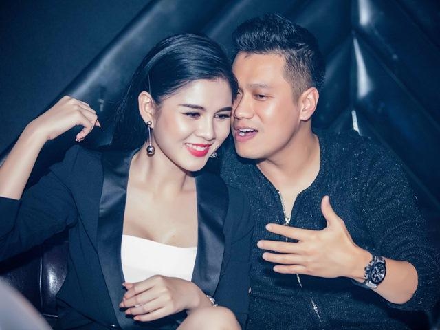 Phan Hải Việt Anh thân mật với nữ diễn viên Người phán xử tại quán bar
