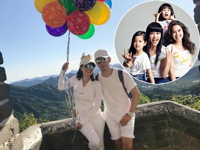 Ngôi sao 24/7: Đã có 3 con gái, Chung Lệ Đề vẫn quyết đẻ thêm con trai cho chồng trẻ