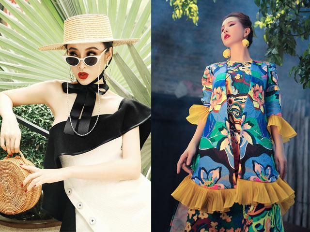 Angela Phương Trinh cực sexy đối lập Hoa hậu Thu Hoài mộng mị với áo dài