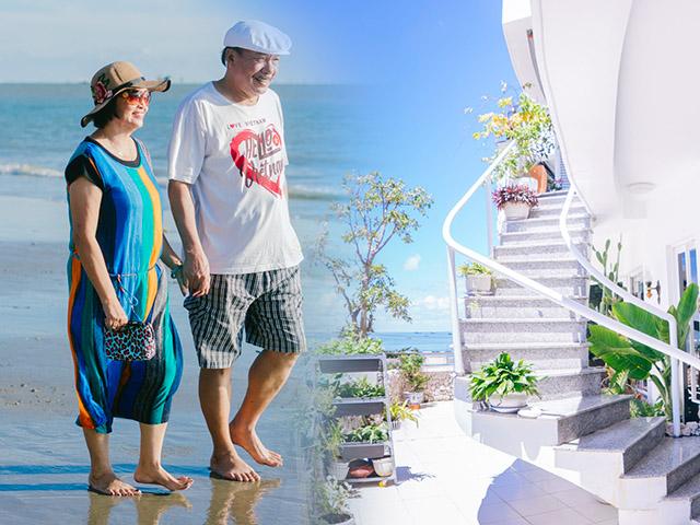 Tiết lộ cuộc sống đẹp như mơ của nhạc sĩ Trần Tiến và vợ sau 8 năm ở Vũng Tàu