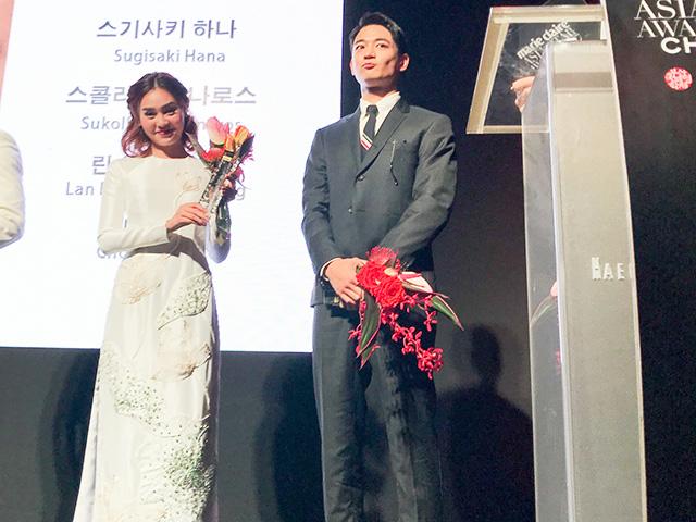 Ninh Dương Lan Ngọc bất ngờ đoạt giải Gương mặt châu Á tại LHP Busan