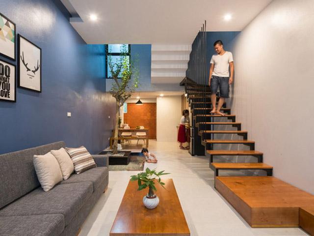 Bất ngờ với căn nhà 3 tầng 52m² hiện đại chỉ 800 triệu đồng của vợ chồng trẻ Hải Dương