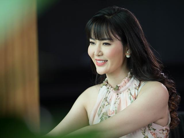 Hoa hậu Thu Thủy: Tôi sẽ không trả lời gì thêm trước câu chuyện tố giật chồng