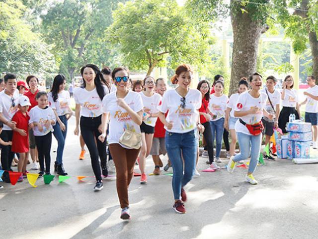 Dàn nghệ sĩ Việt chạy vì trẻ em bị bệnh tim bẩm sinh