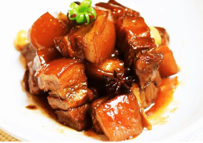Món thịt kho tiêu ngon cho người già