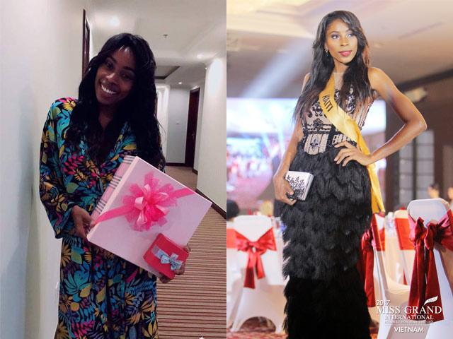 Chuyện như cổ tích: Hoa hậu nghèo Haiti không có váy áo đi thi Miss Grand International 2017