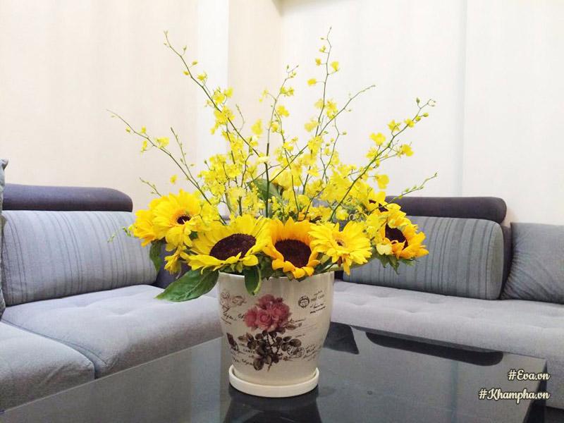 Kết quả hình ảnh cho cắm hoa lan tại nhà