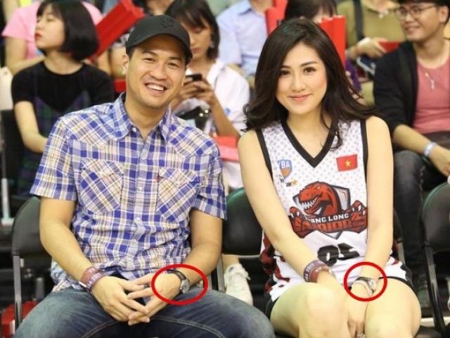 Á hậu Tú Anh và Phillip Nguyễn dính nghi án hẹn hò vì đeo đồng hồ đôi