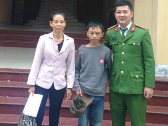 Bé trai đạp xe gần 250km từ Thanh Hóa vào Nghệ An mới biết mình bị lạc