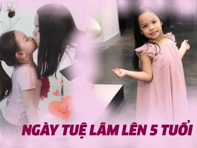 Phạm Quỳnh Anh gây xúc động với bức thư gửi con gái 5 tuổi Tuệ Lâm