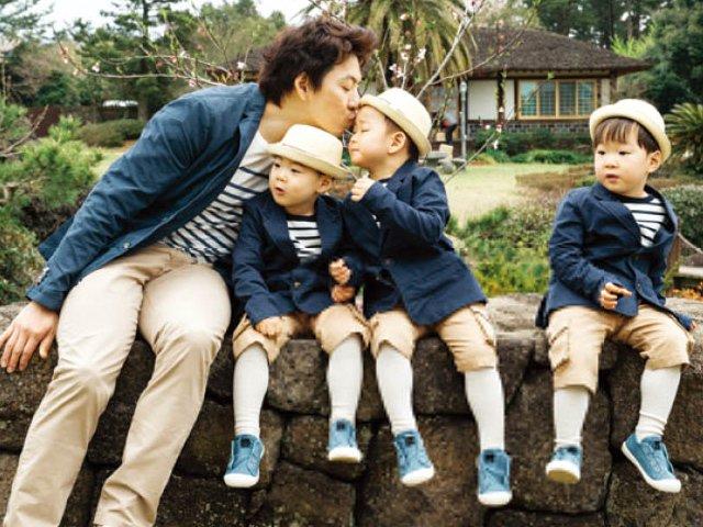 Ông bố quốc dân xứ Hàn và cách dạy 3 con khiến các bé vâng lời răm rắp