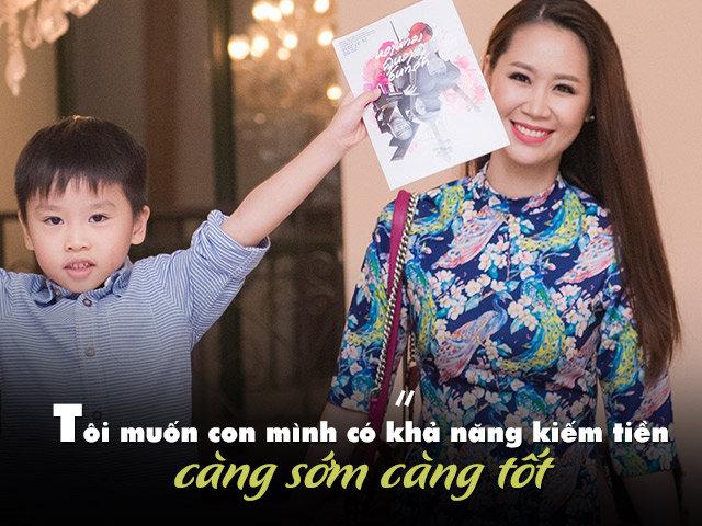 Hoa hậu Dương Thùy Linh: Nếu không nuôi dạy được con thì đừng đẻ!