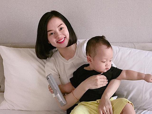 Những bức ảnh khẳng định Ly Kute là bà mẹ đơn thân cực khéo chăm con