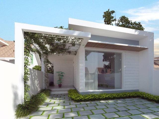 Những mẫu thiết kế nhà 1 tầng 3 phòng ngủ đẹp miễn chê với chi phí thấp