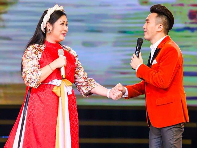 Hồng Vân khiến khán giả sặc cười vì chuyện tình trong bụi chuối với trai trẻ Dương Ngọc Thái