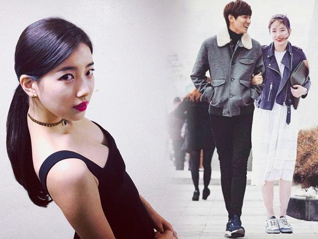 Fan phát hiện Bae Suzy đăng hình gợi cảm 1 tiếng trước khi công bố chia tay Lee Min Ho