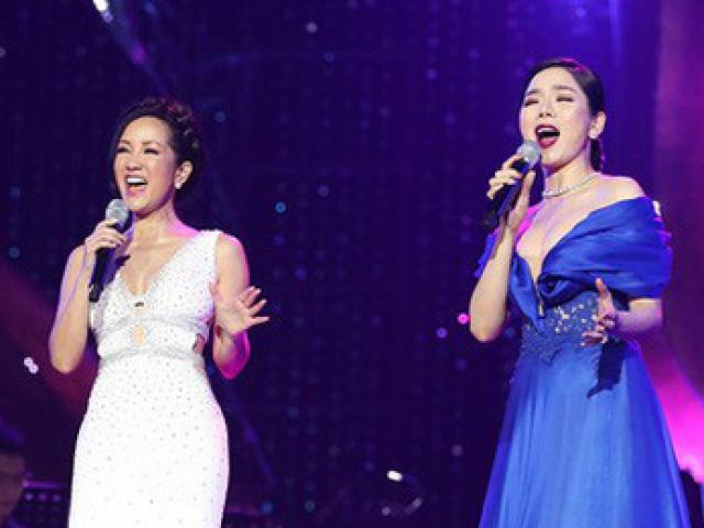 Lệ Quyên lép vế trước Hồng Nhung khi cùng hát Trịnh Ca