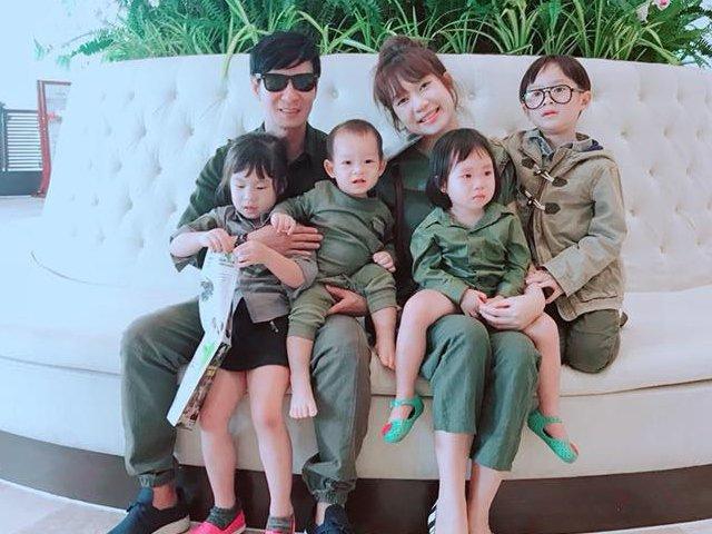 Nhìn đội quân 6 người nhà Lý Hải - Minh Hà, ai chẳng muốn một gia đình đông đúc