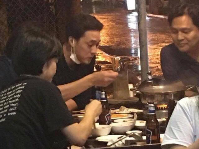 Sau sự kiện tại bữa tiệc của Diệp Lâm Anh, So Ji Sub trốn đến Hội An ăn lẩu