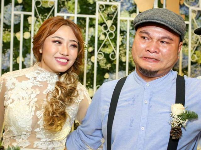 Trấn Thành cùng Kiều Minh Tuấn và Cát Phượng đến chúc mừng đám cưới Vinh Râu