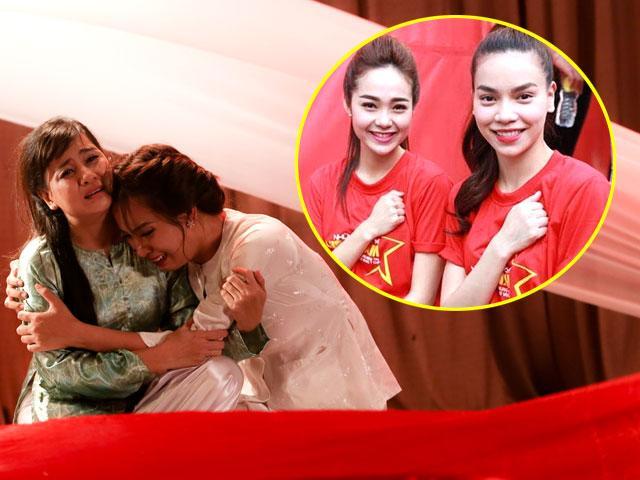 Liệu Hồ Ngọc Hà - Minh Hằng có thể ôm nhau nức nở rồi làm hòa như Lật mặt showbiz?
