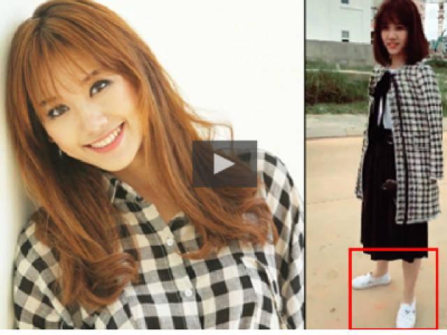 Hari Won bị bóc mẽ đi giày rẻ tiền và cách cô nàng đáp trả