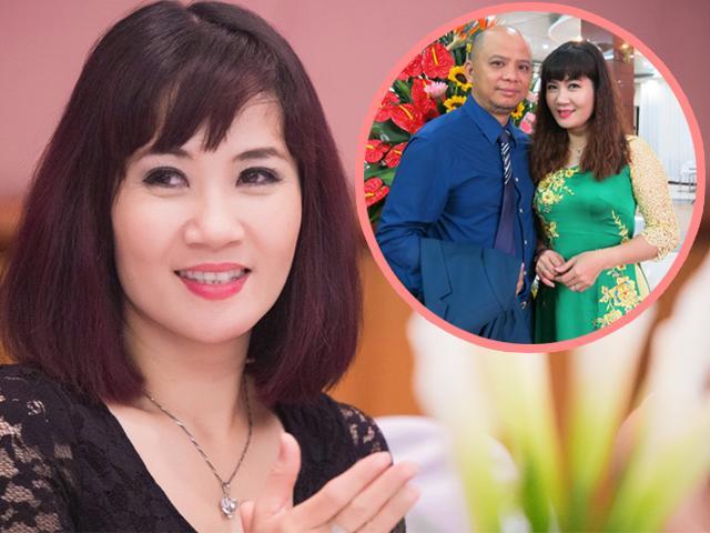 Diễn viên Vệt nắng cuối trời Nguyệt Hằng  và ông chồng hổ báo từng định ly hôn 4-5 lần