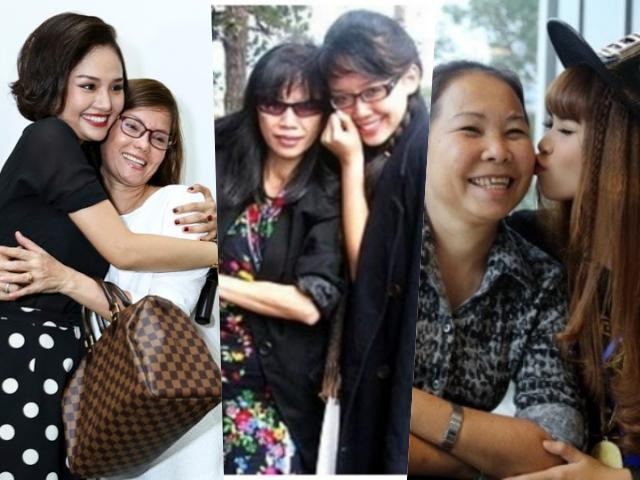 Những bà mẹ cặn kẽ trong từng bước đi của sao Việt (P.1)