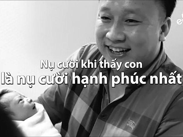 Đưa vợ đi đẻ: Đây là phản ứng của các ông chồng Việt khiến chị em ấm lòng