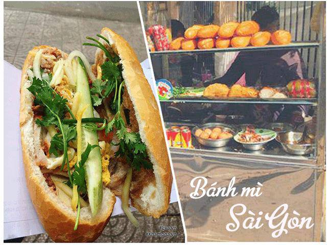 Du hí Sài Gòn chấm điểm 4 hàng bánh mì đình đám xếp hàng mới được ăn