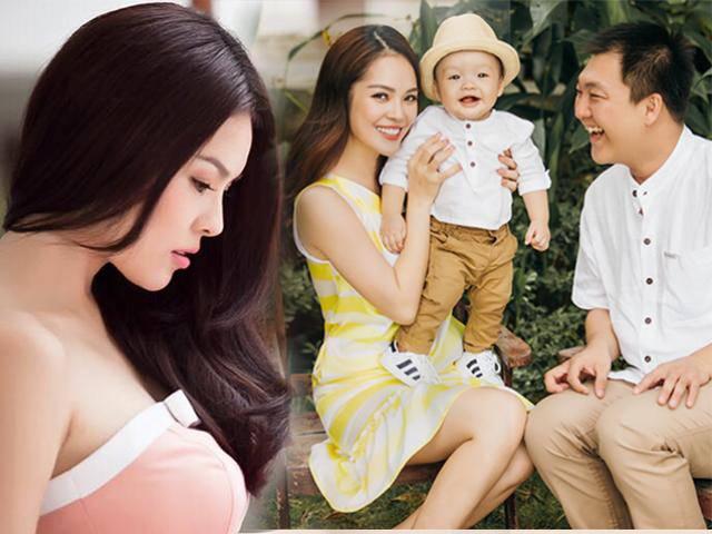 Dương Cẩm Lynh buồn bã chia sẻ: Cũng may còn có con, để mẹ bớt mệt mỏi với sự đời