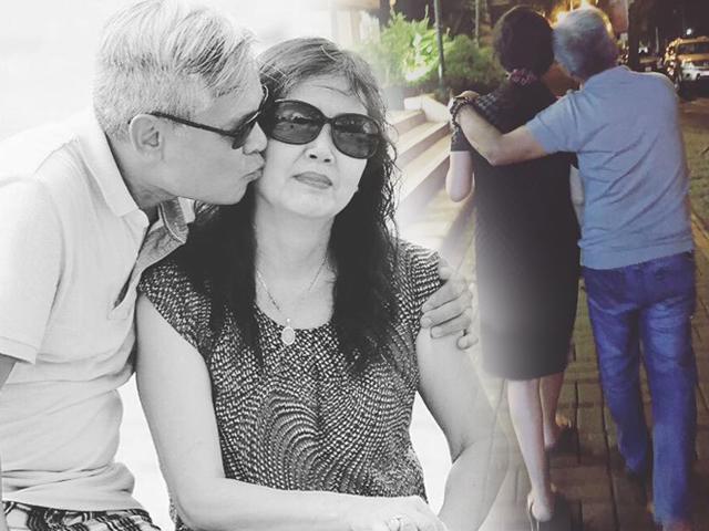 Tình cảm ngọt ngào hiếm có của bố mẹ ruột Phạm Quỳnh Anh dù đã lên chức ông bà