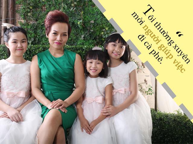 Phản ứng đặc biệt của Thái Thùy Linh khi con mình đẻ ra gọi người giúp việc là... mẹ