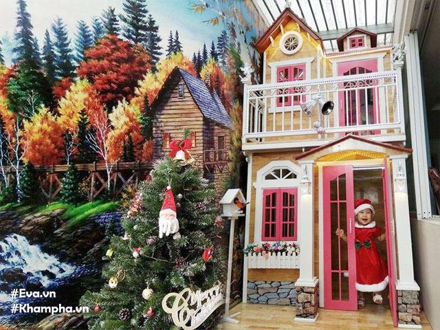 Ngôi nhà đồ chơi cao 3m đẹp như mơ của cặp vợ chồng Sài Gòn tự đóng tặng con gái
